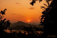 Puesta de Sol en Luan Prabang.