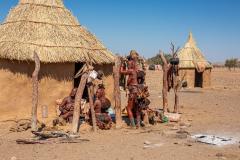 Poblado Himba.